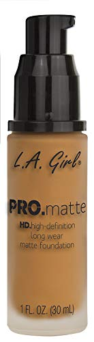 L.A Girl Pro Color and Pro Matte Foundation, Expresso, 30ml