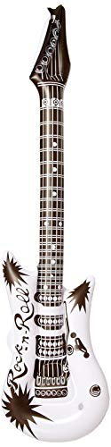 Rhode Island Novelty 42-Inch Black and White Guitar Inflate