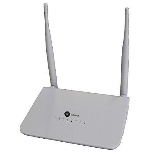 WONECT Router repetidor WiFi con conexion USB R658A valido para RALINK 3070 R658 RT3070 Repetidor WiFi Router Extensor Router USB Amplificador señal por Puerto USB Facil configuracion