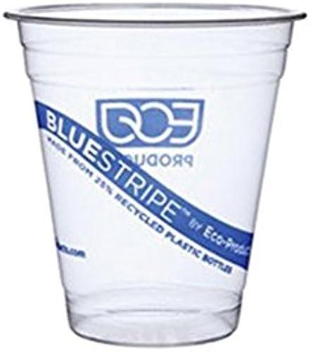 el más barato Eco-Products, Inc azulStripe fría tazas, transparente, 12 12 12 oz. Cold Cup  se descuenta