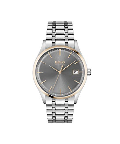 Hugo BOSS Men's Analog Quartz Watch with Stainless Steel Strap 1513834