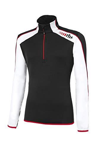 Zero Rh+ Furggen, Abbigliamento Man Snow Jersey Uomo, Black/White/Red, M