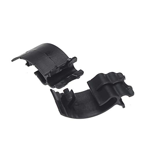 OSBUN Left Side Battery Side Cover Clips For Sportster XL883 XL1200 48 72 2004-2013 (2pcs)