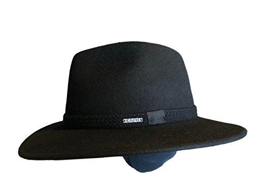 Capo Sporthut mit Ohrenklappen schwarz (56)