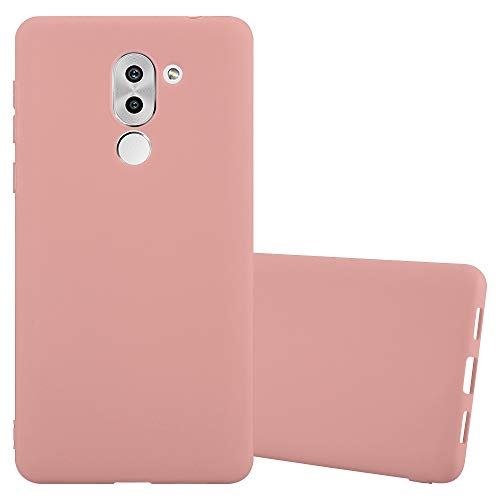 Cadorabo Hülle für Honor 6X - Hülle in Candy ROSA – Handyhülle aus TPU Silikon im Candy Design - Silikonhülle Schutzhülle Ultra Slim Soft Back Cover Case Bumper