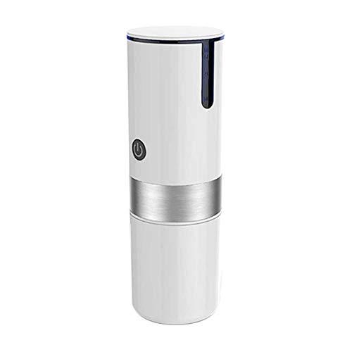 WHYWJ Máquina espresso portátil, cafetera de coche, cafetera eléctrica de carga USB,...