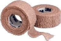 Vendaje autoadhesivo 3M Coban, 2,5 cm de ancho x 4,5 m de largo, 1 unidad), color marrón