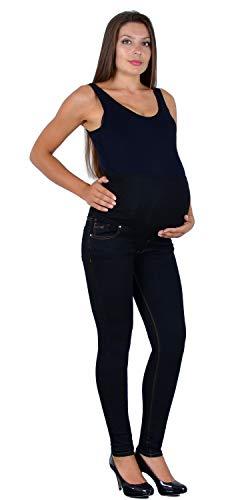 ESRA Schwangerschaftshose Umstandshose Jeans Hose Skinny für Schwangerschaft Maternity J531