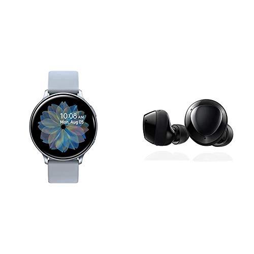 Samsung Galaxy Watch Active 2 (44mm, GPS, Bluetooth), Silver with Samsung...