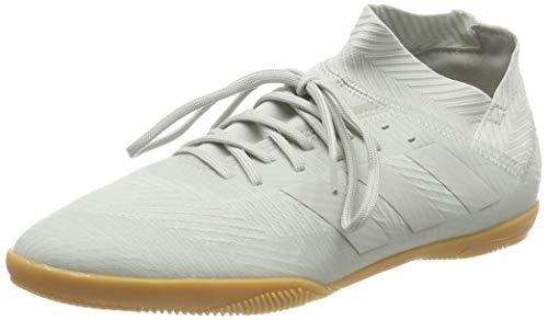 adidas Nemeziz Tango 18.3 In J, Zapatillas de Fútbol Niños, Gris (Ash Silver/Ash Silver/White Tint S18), 35.5 EU
