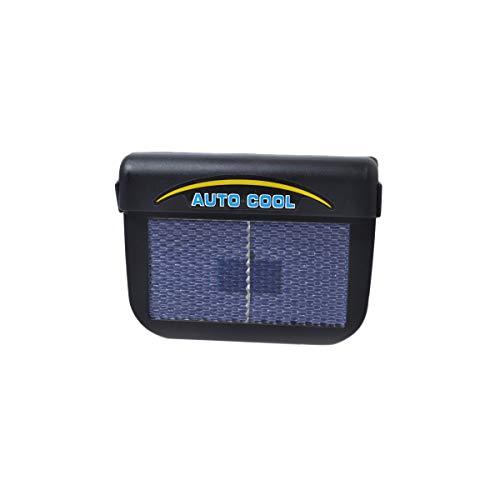VOSAREA Ventilatore Radiatore Solare Auto Ventola di Raffreddamento per Finestrino dell'auto