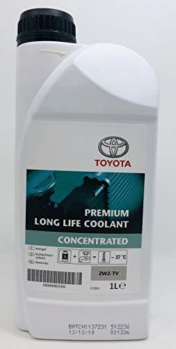TOYOTA Anticongelante Refrigerante Original Premium Life Coolant Puro Motores 2WZ-TV 08889-80260 1 litro