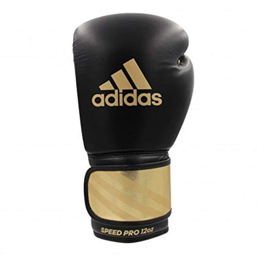 adidas Speed Pro Boxhandschuhe schwarz/Gold Größe 14 oz