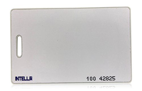 50 INTELLid 26 Bit Clamshell Proximity Access Control Cards
