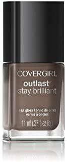COVERGIRL Outlast Stay Brilliant Nail Gloss, Toasted Almond .37 fl oz (11 ml) by COVERGIRL