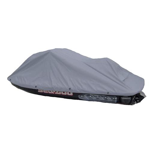 Jet Ski Personal Watercraft Cover Charcoal Grey, fits up to 140' Covers Sea-Doo, Yamaha, Kawasaki, Polaris, Wet Jet, Honda, ARTCO