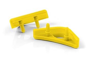 Noctua NA-SAVP1 chromax.Yellow Anti-Vibration Pads for 120/140mm Noctua Fans  16-Pack Yellow