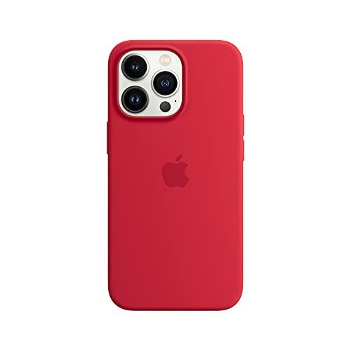 Apple Funda de Silicona con MagSafe (para el iPhone 13 Pro) - (Product) Red