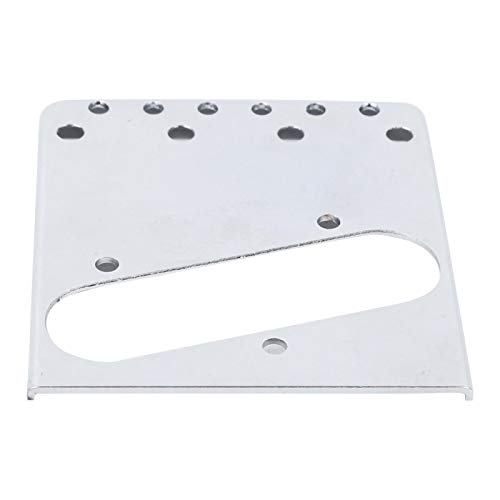Placa de puente útil para puente de guitarra eléctrica TL