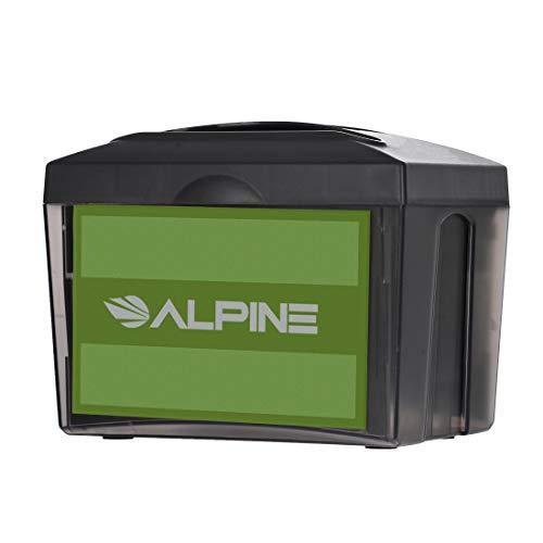 Alpine Industries Tabletop Fullfold Napkin Dispenser - Heavy Duty Commercial Restaurant Napkin Holder