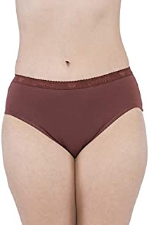 VIP Feelings A103 Outer Elastic Cotton Hipster Assorted Panties - Pack of 6