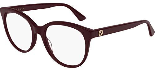 Gucci Brillen GG0329O BURGUNDY Damenbrillen