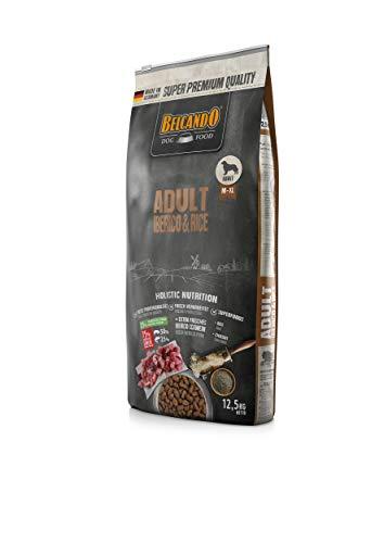 Belcando Adult Iberico & Rice [12,5kg] Hundefutter | Trockenfutter für Hunde | Alleinfuttermittel für ausgewachsene Hunde Aller Rassen ab 1 Jahr