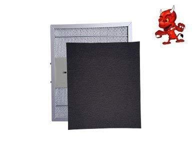 1 Set Aktivkohlematten Kohlematten Filtermatten Aktivkohlefilter Filter Kohlefilter in hohe Qualität passend für Dunstabzugshaube Abzugshaube PKM CF 152, CF152