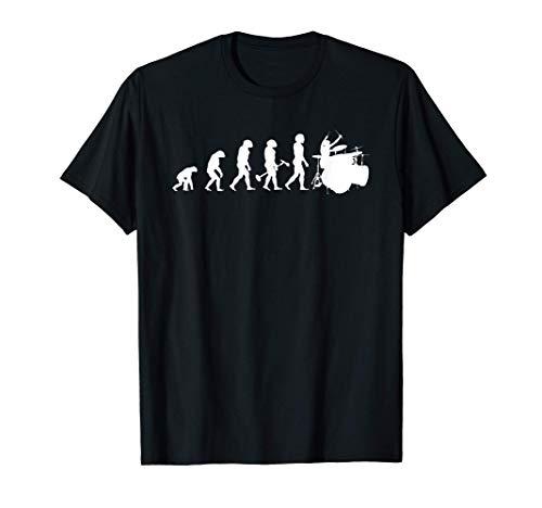 Gran Batería Regalo De Evolución De Batería Camiseta