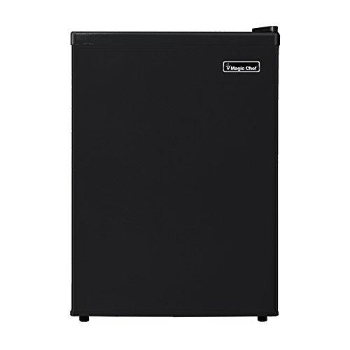 Magic Chef MCBR240B1 Refrigerator, 2.4 cu. ft, Black