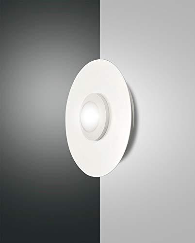 Fabas Luce Lampe murale LED Swan Applique murale LED IP20 | Lave-vaisselle verbaut 8 W 700LM chaud | 3270–23–102