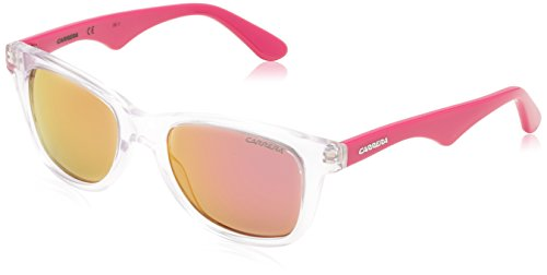 Carrera Junior Unisex Niños CARRERINO 10 VQ DDU Gafas de sol, Rosa (Crystal Fuchsia/Pink Multilayer), 46
