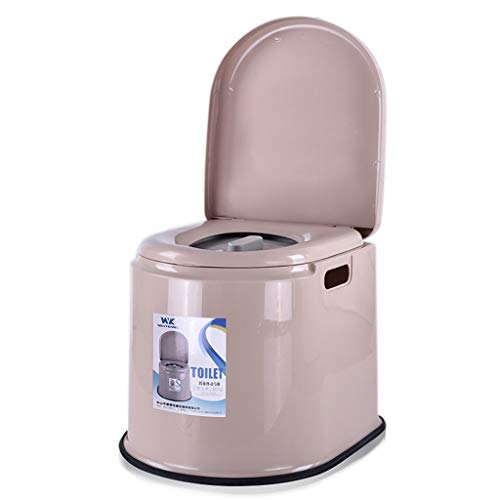 Z-RXZBYJH Portable Non-Slip Plastic Adult Sitting Toilet Potty Compact Suitable for Outdoor Travel Camping