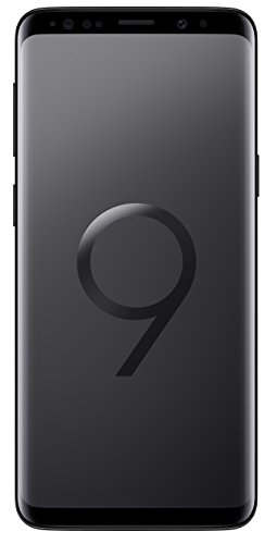 Samsung Galaxy S9 (SM-G960F/DS) 4GB / 64GB 5.8-inches LTE Dual SIM (GSM Only, No CDMA) Factory Unlocked - International Stock No Warranty (Midnight Black, Phone Only)