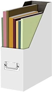 Snap-N-Store Magazine File, 12.25 x 9.75 x 3.75 Inches, White (SNS01818)
