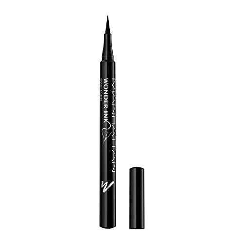 Manhattan Wonder\'ink Eyeliner, Farbe Black 001, 1er Pack(1 X 12 Milliliters)