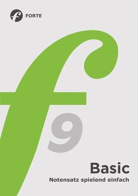 Forte 9 Basic: Notensatz spielend einfach