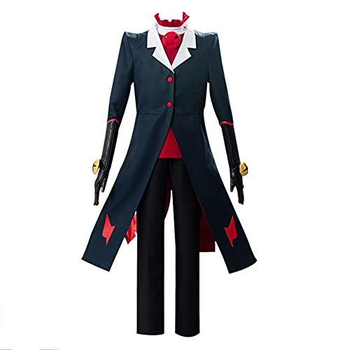 Hazbin Hotel Blitzo - Disfraz de Halloween para disfraz de demonio pequeo y uniforme de abrigo, juego completo para hombres y nios, Blitzo, XXXL