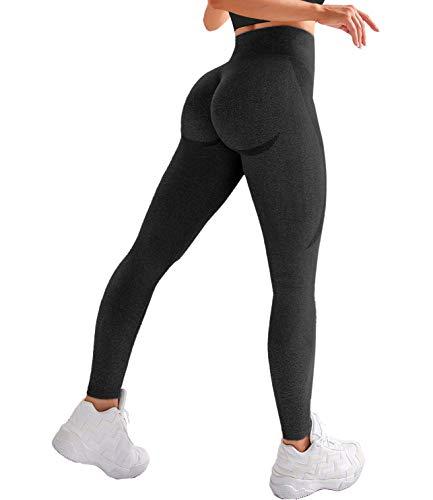 COMFREE Leggings de Yoga para Mujer, Cintura Alta, Pantalones de Yoga, Levantamiento de Cadera, sin Costuras