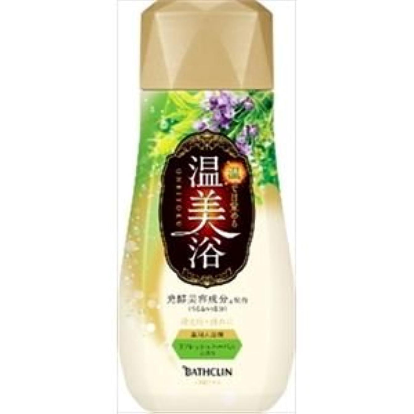 第アパル欲しいです(まとめ)バスクリン 温美浴 リフレッシュハーバルの香り 480g 【×3点セット】