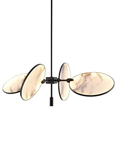 Lámparas de techo Lámpara de techo de techo suspendido Nuevo chino moderno Minimalista Sala de estar Lámpara de comedor Mesa de comedor creativa Personalidad Lámparas LED Accesorios para el hogar