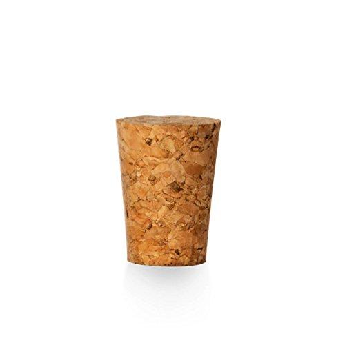 Tuuters 100x Korken für Reagenzgläser | Presskorken ✓ 1te Qualität ✓ Lebensmittelgeeignet ✓ (25 x Ø 21 x 17)