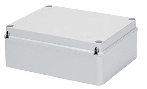 Gewiss GW44207 De plástico caja de conexión eléctrica - Cuadro eléctrico (Gris, 190 mm, 70 mm, 140 mm)