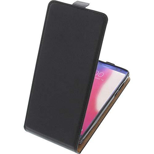 foto-kontor Tasche für Doogee BL12000/BL12000 Pro Smartphone Flipstyle Schutz Hülle schwarz
