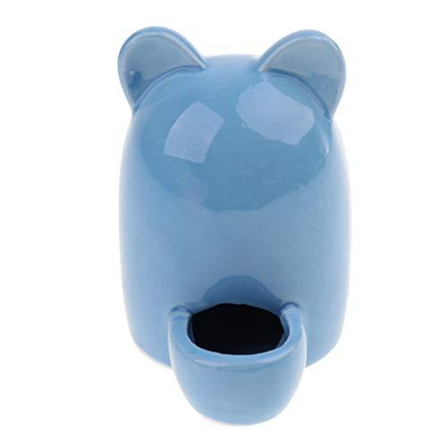 Automatischer Wasserspender Keramik Wasser Feeder für Hamster, Mäuse, Ratten, Meerschweinchen, Igel