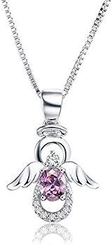 Ska Wing Pendant Guardian Angel Necklace