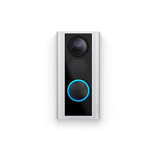 Ring 8SPPS9-0EN0 Peephole Cam Video Doorbell - Battery - Satin Nickel
