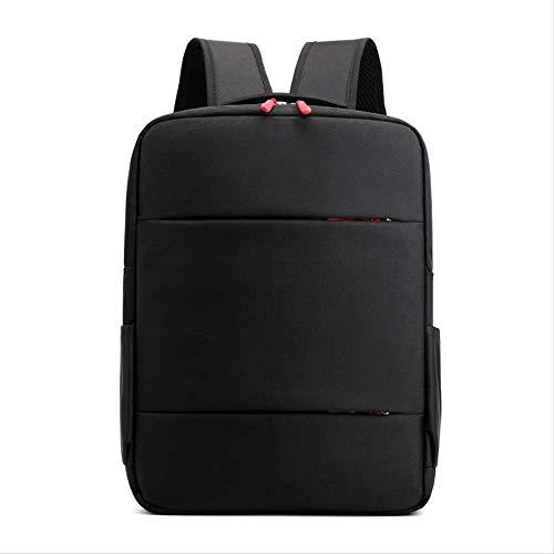 Rucksack Business Bi-Umhängetasche Herren Business Bag Computer Bag Company Geschenktüte WeinroterReißverschluss