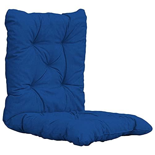 Cojín para silla mecedora, cojín de silla para tumbona, cojines de mimbre suave para muebles al aire libre, cojín de banco para silla de césped, cojines de asiento de cocina, 1 pieza (sin silla)