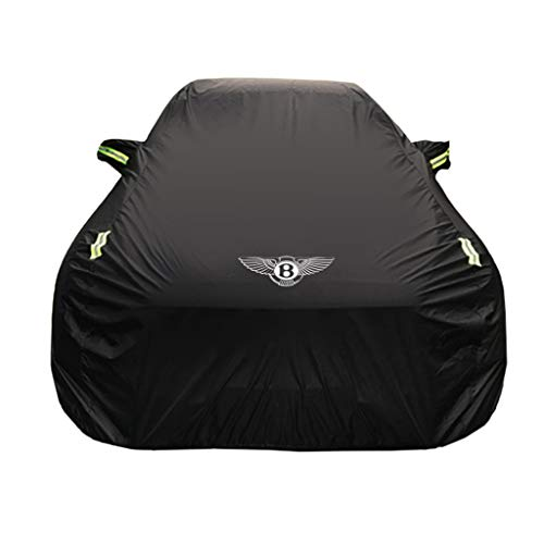 Car Cover Bentley Flying SPUR Special Car Cover Car Clothing Thick Oxford Cloth Sun Protection Rain Cover Car Cloth Car Cover (Size : Oxford Cloth - Single Layer)
